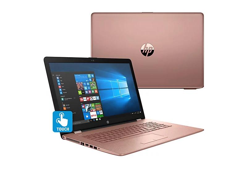 HP Notebook 17 - Pęknięta obudowa pod zawiasami w trzech punktach