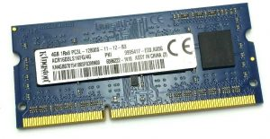 Pamięć RAM - KINGSTON 4GB DDR3 SO-DIMM - ACR16D3LS1KFG/4G