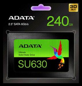 Dysk SSD - ADATA Ultimate SSD 240GB SATA - ASU630SS-240GQ-R